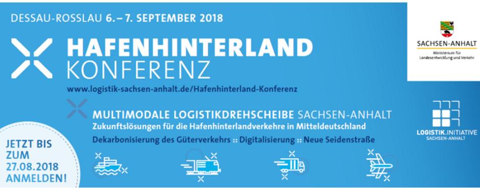 Hafenhinterland-Konferenz 2018